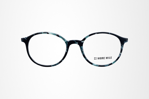 graceful design women's round eye glasses frame with metal temple